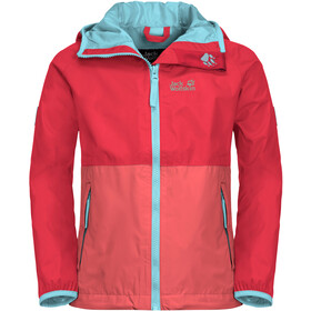 Jack Wolfskin Rainy Days Jacke Kinder tulip red